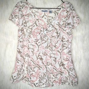 G. H. Bass & CO Large Pink Blouse